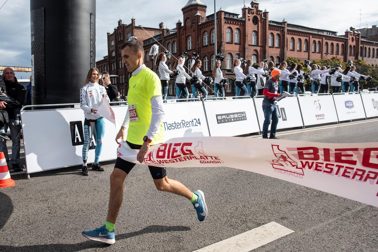 Sebastian Wąsicki z Redy najszybszy w 56. Biegu Westerplatte dla Niepodległej