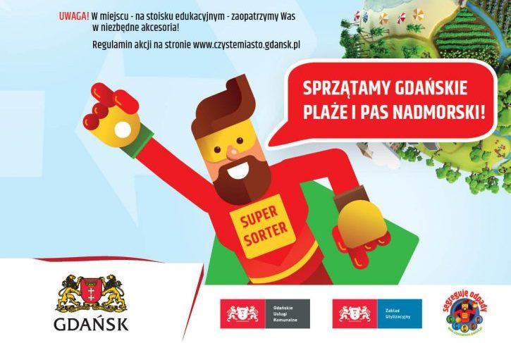 """Gdańskie """"Sprzątanie świata"""" zmierza w stronę plaż"""