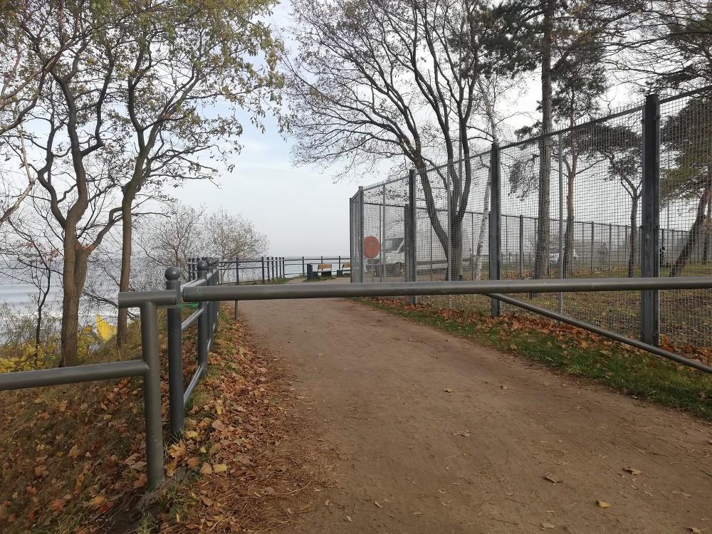 Falochron Zachodni zamknięty do 15 grudnia
