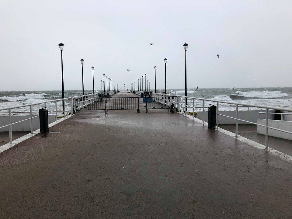 Molo w Brzeźnie zamknięte w najbliższy weekend